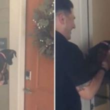 Polícia faz uma grande surpresa para mulher que teve seu cão roubado