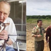 Senhor de 98 anos usa as suas economias para abrir um santuário para animais