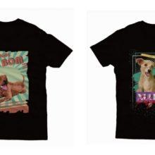 Cães de abrigos são tema de coleção de camisetas em Paranavaí