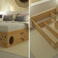 Conheça uma cama que é perfeita para gatos e donos de gatos