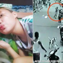 Mulher salva cachorro do trem e acaba sendo atropelada