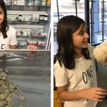 Menina gastou todas as suas economias para salvar seu cachorro doente